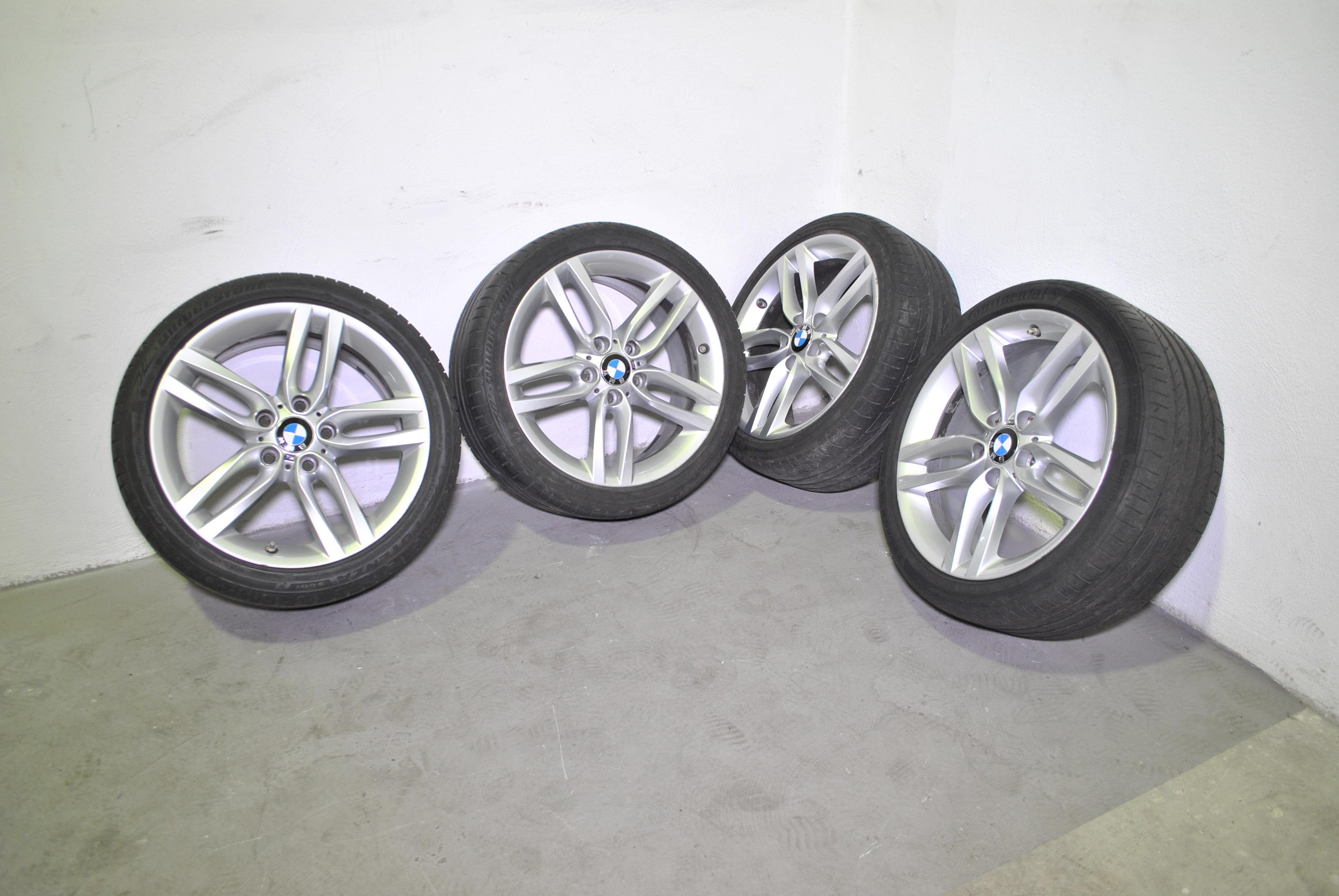 "CERCHI ORIGINALI BMW SERIE 5 18"""